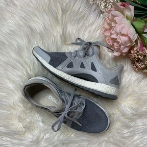 adidas Shoes - [adidas] Pure Boost Grey Sneakers